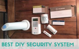 DIY Security System on table: Best DIY Security System